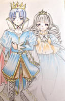 Royalty Eriol and Tomo by Shiyaechan by NewTrials