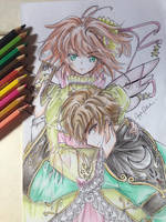 Intense Sakura and Syaoran by Shiyaechan by NewTrials