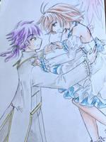 Sakura and Eron by Shiyaechan by NewTrials