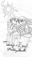 Windswept Eriol and Tomoyo by dreamystarskye by NewTrials