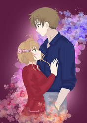 Sakura and Syaoran by Ch Nutcha Phenpaisit by NewTrials