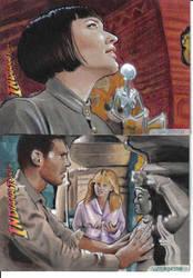 Indiana Jones return cards 2 by sarahwilkinson
