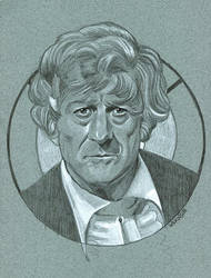 The 3rd Doctor from Doctor Who by sarahwilkinson