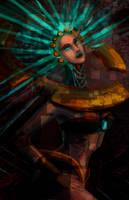 Alien woman by YenniferDark