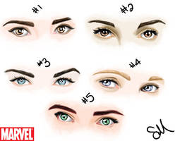 Marvel girls by slimsassysarah