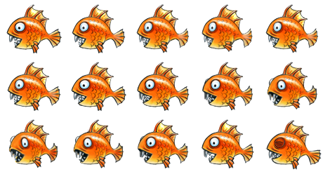 Fish. Fat and Orange by BertaSchultz