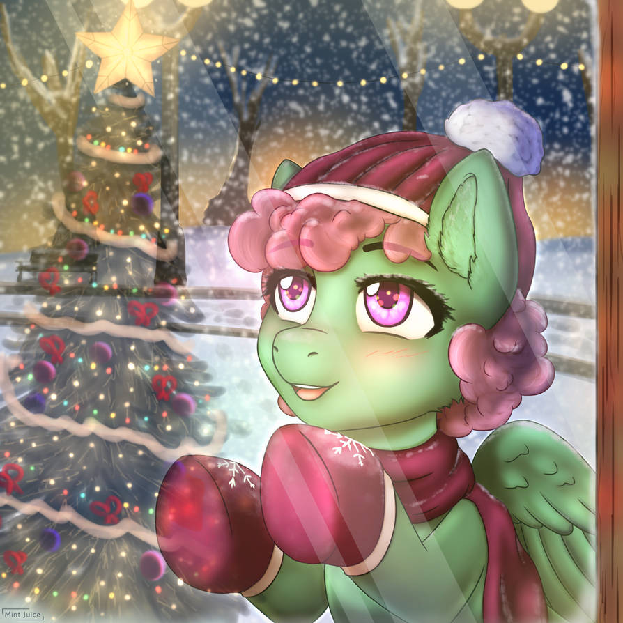 What a beautiful christmas tree! by MintJuice