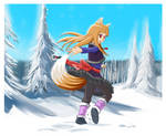 Holo in the forest of Yoitsu by Goodguy67