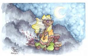 Hippie Bear - CDC by LeoDragonsWorks