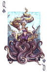 Queen of Spades - Sea Rulers by LeoDragonsWorks