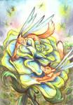 Strange Dragonfly by LeoDragonsWorks