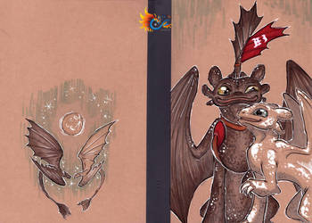 HTTYD - Two Furies by LeoDragonsWorks