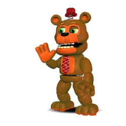 Nedd Bear(FNAF World) by SaltyGibusEdits