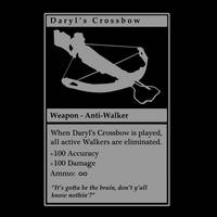 Daryl's Crossbow by Boxmang
