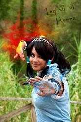 Legend Of Korra water and fire bender by LadyDmc