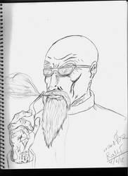 Master Roshi by Leon-Evelake