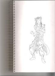 Yomi Sketch by Leon-Evelake