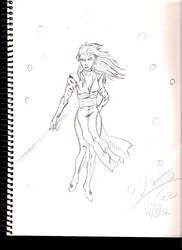Ryoko sketch by Leon-Evelake