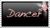 Dancer Stamp by LoverofFiction