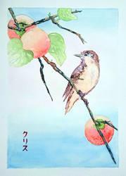Yukioe birdsong by Onyana