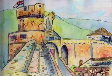 Dubrovnik Walls by Onyana