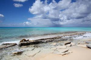caribbean beach stock 1 by venomxbaby