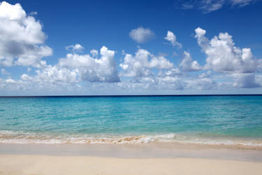 caribbean beach stock 2 by venomxbaby