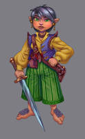 halfling rogue by Vinni-Pooh