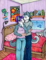 Secret Kiss by cheshiresphynx