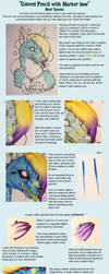 Colored pencil Tutorial by cheshiresphynx