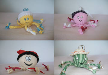 cute baby toys by croatian-artist-girl