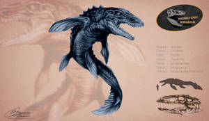 Mosasaur : Tyrant of the Deep by Arthuria99