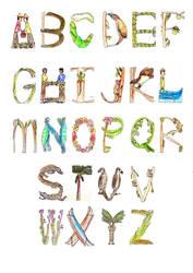 Letras y Figuras by guelpacq