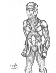 X-O Manowar by guelpacq