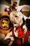 Steampunk White Rabbit ::01 by Cvy