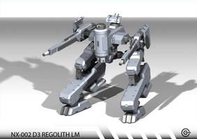 NX-002 D3 REGOLITH LM by Argentix