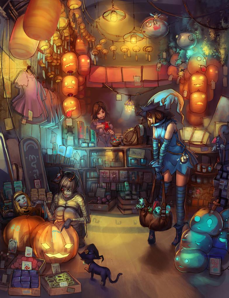 :: Mystery shop by Readman
