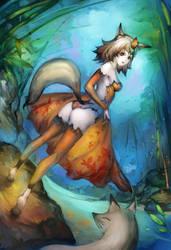 Kitsune by Readman