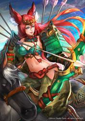 Kitsune armor by Readman
