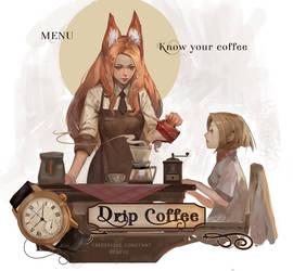 Drip coffee by Readman