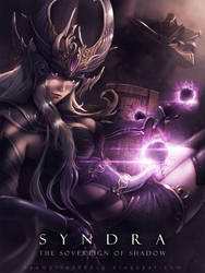The Sovereign of Shadow:Syndra by raempire3000