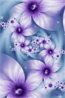 Purple Frolic by Mookiezoolook