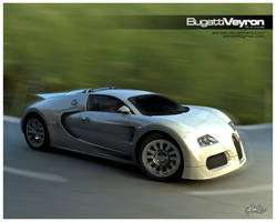 Bugatti Veyron by Ashale