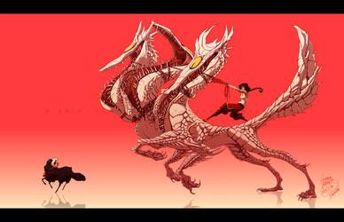 ARK: Hellhound #01 by Empyrisan