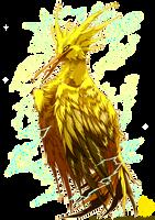 PKM: Zapdos Used Thunder Shock! by Empyrisan
