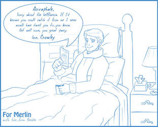 Good Omens: Get Well Soon by halobender