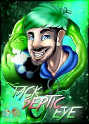 Jacksepticeye .:Fanart + Speedpaint:. by Maplebaconleaf