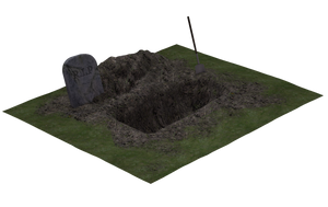 Grave 02 by Free-Stock-By-Wayne