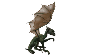 Millennium Hatchling Dragon 04 by Free-Stock-By-Wayne