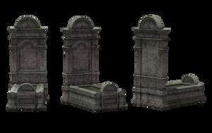 Gravestone Set 13 by Free-Stock-By-Wayne